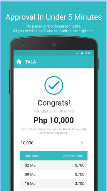 Tala Loan Approval