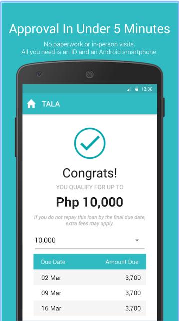 Tala Loan Approval